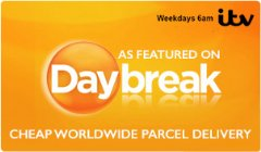 Worldwide Parcel Services - As featured on ITV�s Daybreak