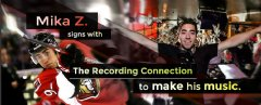 Mika Z. of the Ottawa Senators Chooses The Recording Connection To Pursue His Dream