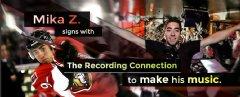 Mika Z. of the Ottawa Senators Chooses The Recording Connection To Pursue His Dream