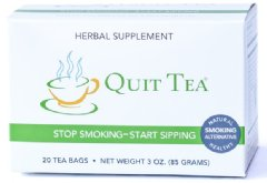 Box of Quit Tea