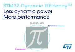 STM32 Dynamic Efficiency (TM) Microcontrollers