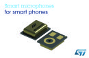 Mobiles Hear Better in Loud Environments with Advanced MEMS Microphone from STMicroelectronics