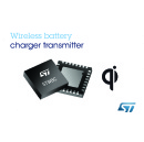 STMicroelectronics Introduces World�s First Customizable Wireless Battery Charger Controller