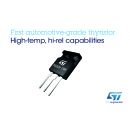 STMicroelectronics First Past the Post with Automotive-Grade 1200V Thyristor for Ultra-Reliable Power Control