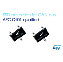STMicroelectronics Introduces First Automotive CAN ESD Protection Devices Compliant with All Key Interface Protocols