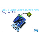 Plug and Spin Brushless DC Motors in Just a Few Seconds with STMicroelectronics� STM32 Motor-Control Nucleo Pack