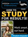 Kindle Ebook On Study Skills, How To Study, receives rave reviews