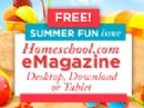 Homeschool.com Publishes Their Summer Fun-Summer Education e-Magazine