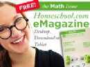 Homeschool.com Publishes Their Math e-Magazine
