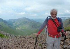 Chris Walking in the Lake District