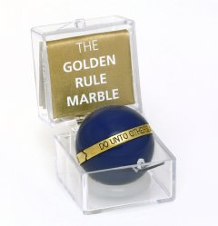 Golden Rule Marble