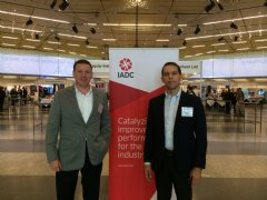 TWI & Safar Oilfield Services were represented by (left to right): Jake Frazer, Chief Operations Officer; and Patrick Malcor, Chief Executive Officer