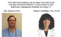 Dentists from Contemporary Dentistry Recognized by Peer and State