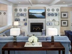 Design by Interiors by Donna Hoffman which received recognition by the Interior Design Society at their Annual Conference