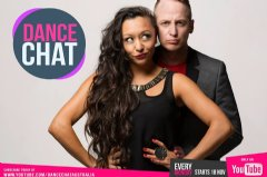 Dance Chat hosts - Australian choreographers Paul Malek & Yvette lee.