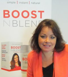Boost n Blend creator and managing director Bambi Staveley