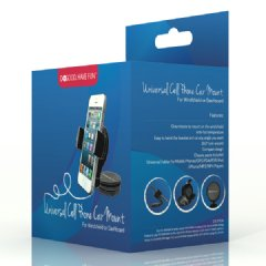 Do Good Have Fun� Car mount fits iPhone, Samsung GS4 HTC One Motorola Droid Razr & Blackberry Q Series, Garmin TomTom