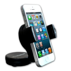Do Good Have Fun Mount for Windshield & Dashboard - Fits iPhone, Samsung GS4, HTC One, Motorola Droid Razr & Blackberry Q Series, Garmin, TomTom