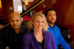 (left to right) Rudy Banks, Emily Guill, Jonathan Holmes