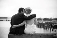 Waterfront Wedding at www.sugaroom.com.au