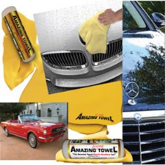 The Amazing Drying Towel - The Best Super Absorbent Fast Drying Towel That Beats Microfiber, Other Chamois, and Drying Cloths Hands Down - Guaranteed!