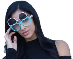 GloFX�s new line of diffraction glasses is fully customizable, great for all ages, and features a Lifetime Limited Warranty.