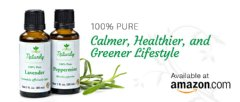Naturily�s Premium Quality, 100% Pure Lavender and Peppermint Oils are available on Amazon.com. For a Calmer, Healthier, and Greener Lifestyle.