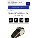 New Website Promotes Establishment of A National Whistleblower Day