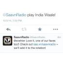 Saavn and Twitter Team Up to Create Tweet-Powered Internet Radio Station