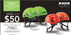 Save up to $50 - - - - - - - Kask America  Super Plasma Special Event 2014