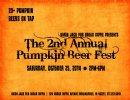Pumpkin Beer Lovers to Flock to Pumpkin Beer Fest