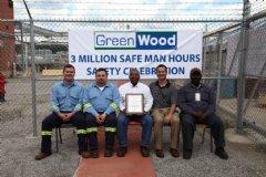 GreenWood Inc Celebrates 3 Million Safe Work Hours at WVO