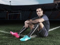 Cesc F�bregas will wear PUMA evoPOWER Tricks in Brazil