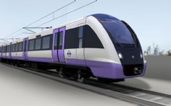 BOMBARDIER AVENTRA train for London Crossrail