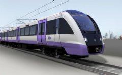 BOMBARDIER AVENTRA train for London Crossrail