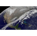 Satellite Views Early Thanksgiving Travel Trouble Areas in U.S.