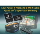 Microchip Expands Family of Serial Quad I/O� SuperFlash� Memory Devices With 1.8V Low-Power 4-Mbit and 8-Mbit Memory