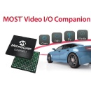 Microchip Introduces World�s First H.264 Video I/O Companions Optimized for MOST� High-Speed Automotive Infotainment and ADAS Networks