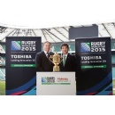 Toshiba Announces Rugby World Cup 2015 Sponsorship