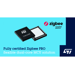 webwire.com - STMicroelectronics Introduces Zigbee 3.0 Support for STM32WB Wireless Microcontrollers