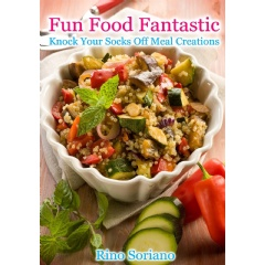 rino soriano puts the fun and fantastic in cooking healthy meals