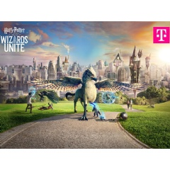 Magical real-time augmented reality game: Deutsche Telekom connects